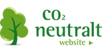 Ikon CO 2 neutralt website Dansk