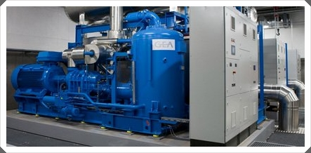 Industrial Cooling plant