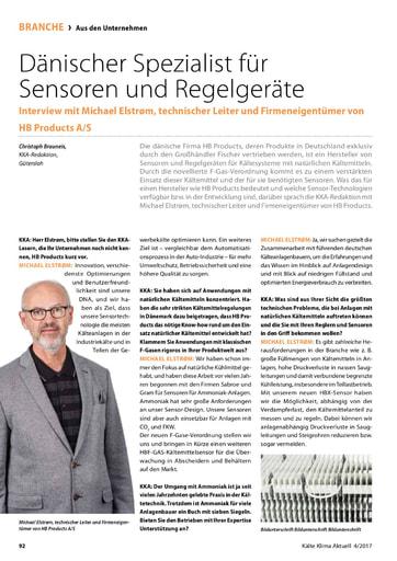 HB Products Dänischer Spezialist