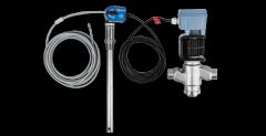 CO<sub>2</sub> niveau sensor med indbygget controller